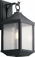Kichler 49986DBK Springfield Distressed Black Exterior Large Wall Sconce