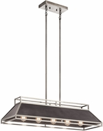 Kichler 52037CLP Grendel Contemporary Classic Pewter Kitchen Island Light Fixture