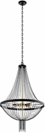 Kichler 52047BKT Alexia Contemporary Textured Black Ceiling Light Pendant