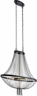 Kichler 52048BKT Alexia Contemporary Textured Black Ceiling Pendant Light