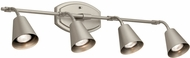 Kichler 52129SN Sylvia Contemporary Satin Nickel Halogen 4-Light Track Lighting Fixture