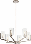 Kichler 52314CLP Nye Contemporary Classic Pewter Chandelier Light