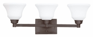 Kichler 5390OZ Langford 3 Lamp Transitional 26 Inch Wide Vanity Light Fixture