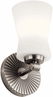 Kichler 55115CLP Brianne Classic Pewter Wall Sconce Light