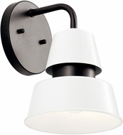 Kichler 59001WH Lozano Modern White Outdoor 7 Wall Sconce Lighting