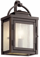 Kichler 59010RZ Carlson Rubbed Bronze Exterior Small Light Sconce