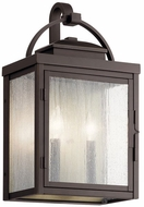 Kichler 59012RZ Carlson Rubbed Bronze Exterior Large Lamp Sconce