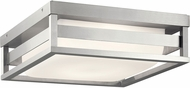 Kichler 59037BALED Ryler Contemporary Brushed Aluminum LED Exterior Overhead Light Fixture