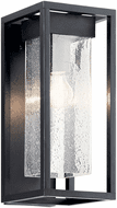 Kichler 59061BSL Mercer Modern Black with Silver Highlights Outdoor 16 Lamp Sconce