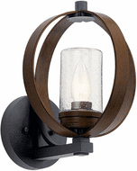 Kichler 59066AUB Grand Bank Modern Auburn Stained Finish Outdoor 13 Wall Sconce Light