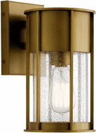 Kichler 59079NBR Camillo Natural Brass Exterior 11 Wall Lighting Sconce