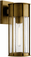 Kichler 59080NBR Camillo Natural Brass Outdoor 15 Wall Mounted Lamp