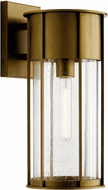 Kichler 59081NBR Camillo Natural Brass Outdoor 18 Wall Light Sconce