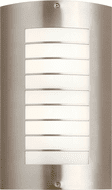 Kichler 6048NI Newport Contemporary Brushed Nickel Outdoor 15 Lighting Wall Sconce