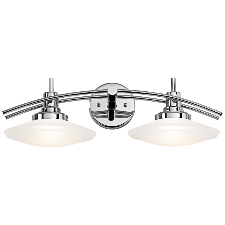 Kichler 6162CH Structures Contemporary Chrome Finish 7.5\