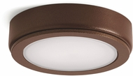 Kichler 6D24V27BZT 6D Series Modern Bronze Textured LED 2700K Under Cabinet Puck Light
