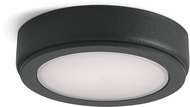 Kichler 6D24V30BKT 6D Series Contemporary Textured Black LED 3000K Under Cabinet Puck Light