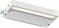 Kichler 6UCSK08WHT 6U Series Modern Textured White LED 8  Under Cabinet Light