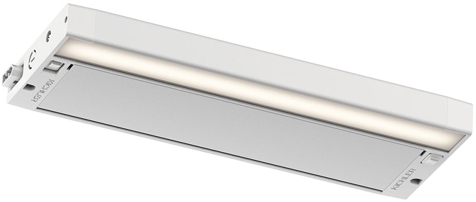 Tech 700bcgiar Gia Contemporary Led Bathroom Lighting: Kichler 6UCSK12WHT 6U Series Contemporary Textured White