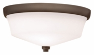 Kichler 8044OZ Langford Transitional Semi Flush Olde Bronze Ceiling Lighting