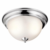 Kichler 8111CH Chrome Finish 6.25  Tall Ceiling Light Fixture
