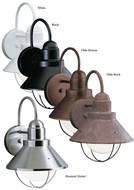Kichler 9022 Seaside 12 Inch Tall Wall Mounted Outdoor Nautical Sconce