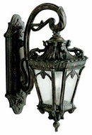 Kichler 9357LD Tournai Traditional 2-Lamp Outdoor Wall Sconce
