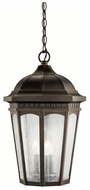 Kichler 9539RZ Courtyard Outdoor Bronze Lantern Hanging Pendant Lighting