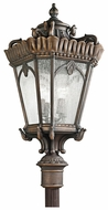Kichler 9565LD Tournai Classic Decorative 37 Inch Tall Londonderry Post Light Fixture