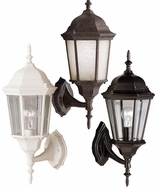 Kichler 9653 Madison Traditional 19 Inch Tall Outdoor Wall Lighting Fixture