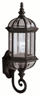 Kichler 9736BK Barrie Classic Black Finish 21 Inch Tall Exterior Sconce