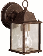 Kichler 9794TZL16 Barrie Traditional Tannery Bronze LED Outdoor Wall Light Fixture
