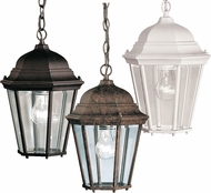 Kichler 9805 Madison Traditional 9 Inch Diameter Outdoor Ceiling Hanging Light