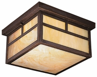 Kichler 9825CV La Mesa Outdoor 6 Inch Tall Craftsman Flush Lighting