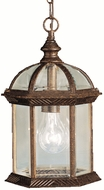 Kichler 9835TZL16 Barrie Traditional Tannery Bronze LED Outdoor Drop Lighting