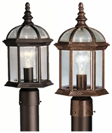 Kichler 9935 Barrie Top Finial 16 Inch Tall Outdoor Post Lighting Fixture
