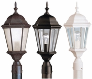 Kichler 9956 Madison Traditional Lantern 22 Inch Tall Outdoor Post Lighting Fixture