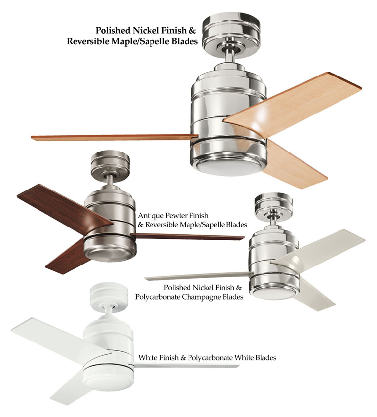 Kichler arkwright 38 inch home ceiling fan with blade finish kichler arkwright 38 inch home ceiling fan with blade finish options loading zoom aloadofball Image collections