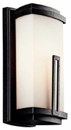 Kichler Leeds Contemporary Small Outdoor Wall Sconce