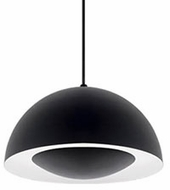Kuzco 401141BK-LED Modern Black LED Mini Pendant Hanging Light