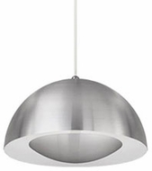 Kuzco 401141BN-LED Contemporary Brushed Nickel LED Mini Hanging Light Fixture