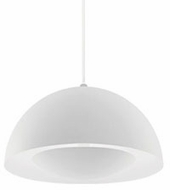 Kuzco 401141WH-LED Modern White LED Mini Drop Lighting