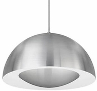 Kuzco 401142BN-LED Modern Brushed Nickel LED 16  Ceiling Light Pendant