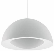 Kuzco 401142WH-LED Contemporary White LED 16  Ceiling Pendant Light