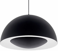 Kuzco 401143BK-LED Modern Black LED 26  Drop Ceiling Light Fixture