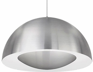 Kuzco 401144BN-LED Modern Brushed Nickel LED 35.5  Lighting Pendant