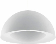 Kuzco 401144WH-LED Contemporary White LED 35.5  Pendant Lamp