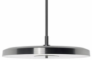 Kuzco 401171BN-LED Contemporary Brushed Nickel LED 16  Pendant Lighting Fixture