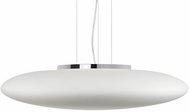 Kuzco 401188CH-LED Modern Chrome LED 27  Hanging Light Fixture