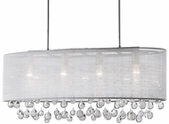 Kuzco 42156 Chrome Island Lighting